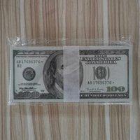 Toys Money Film of UK 04 Dollar Bar y y Simulación Billetes de banco Teleo de Televisión Prácticas Práctica Mejor Falso Billetes Calidad QBPKN