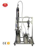 ZZKD 2LB 5LB Высокохранительное промышленное оборудование Закрытая петлевая экстрактор, используемый для извлечения материалов BHO из листьев растений