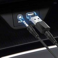 Bluetooth 4.0 Receptor de áudio Transmissor Mini Estéreo Bluetooth Aux RCA USB 3.5mm Jack para TV PC Kit de Carro Sem Fio Adapter1