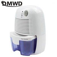 DMWD Mini déshumidificateur, absorbeur d'humidité du ménage, sous-sol tranquille, déshumidificateur, sèche-papillon, absorbeur d'humidité 100v-240v1