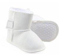 Zapatos para niños pequeños para niños pequeños Tamaño 11CM-12CM-13CM 2020 Botas más nuevas Botas de invierno Bebés recién nacidos Niños y niñas Botas cálidas