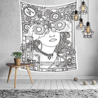 16 diseños de tapiz euramericana adivinación astrología impresión de la impresión de la pared decoración de la pared mantel de yoga mate la playa Toalla de la playa Telón de fondo 177 G2