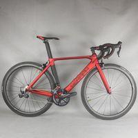 Seraph Brand 50,5 см Размер 7,45 кг Вес Aero Углеродистая дорога Полный велосипед FM268 с R8000 GUIDSSORT