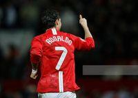 Classic 2008 2008 Mancher Retro Red Home Jersey 7 # Ronaldo Long Sleeve 07 08 레트로 # 10 루니 # 11 Giggs # 18 Scholes 레트로 축구 셔츠