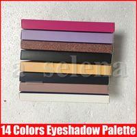 ماكياج العين وردة نوع ذهب الحديثة لوحة ظلال العيون 14 الألوان المحدودة وميض لامع لوحة ظلال العيون مع فرشاة الظلال لوحة 11 الأنماط