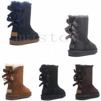 2020 Avustralya Wgg Avustralya Çizmeler Kadın Bootuggsuggugglis0 Kar Kış Terlik Botas Australianas Kürk Boot Yeni 75vt #