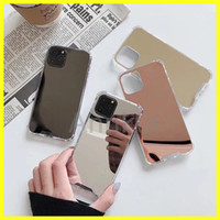 Mirror Phone Case, Shockproof fashion TPU PC for iPhone 12 Pr...