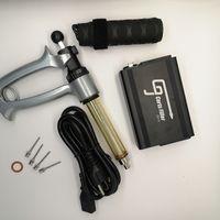 Máquina de enchimento semi-automática do enchimento do cartucho de óleo de enchimento da arma de enchimento do carrinho semi-automotético com a agulha da agulha da agulha da agulha da agulha do tambor de silicone