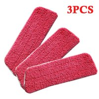 Рука Push Commaters 3 x Flat Sop Заменить Ткань Очиститель Пол чистящий Pust Чистящие Подушки Микрофибра Голова