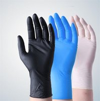 Disposable protective Nitrile Food Gloves Universal Househol...