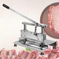 Free Shipping Home Use Manual Bone Cutter Pork chops Cutting Machine For Sale