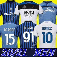 Atalanta Soccer Jerseys Muriel 2020 2021 Atalanta BC Maglia da calcio Duvan Camicia da calcio Layicic Pasalic Gomez Men Kit Kit Kit Uniform