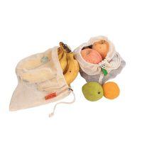 Kullanımlık Alışveriş Çantası Organik Pamuk Örgü Bakkal Alışveriş Çanta Sebze Meyve Çocuk Oyuncak Depolama Tote Paketi Sıcak Satış 4 1FM L2