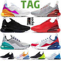 2021 New Cushion 270 Sports Sneakers Herren Laufschuhe Bred Platinum Jade Regenbogen Run Star Damen 27C Trainer 270s Chaussures Größe 36-45