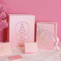 Presente Envoltório Dia dos Namorados Caixa de Embalagem Ins Bela Christmas Eve Apple Vácuo Presente1