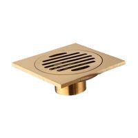 Fábrica Drenos Direct Bathroom Cor Magnetic auto selado desodorante desodorante inseto - prova fina de cobre dreno