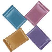 Seal up stoccaggio di cibo sacchetto di immagazzinamento in plastica odore a prova di serratura borse da imballaggio impermeabile auto stile stoccabile sacchetti policromatici 0 24yw f2