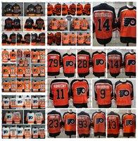 2021 عكس الرجعية فيلادلفيا منشورات Couturier كارتر هارت كلود Giroux Gostisbehere Konecny Patrick Voracek Lindblom Hayes Hockey Jersey