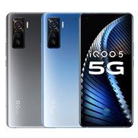 "Original Vivo iQOO 5 5G Handy 12GB RAM 128 GB 256 GB ROM Snapdragon 865 Octa Kernandroid 6,56"" 50.0MP Fingerabdruck-ID intelligentes Handy"