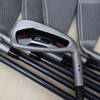 New G410 Golf Club Irons Set 4-9.U.W.S Golf Club eixo de aço ou grafite Shaft frete grátis