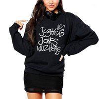 Vsenfo Jughead Jones Wuz هنا Crewneck البلوز المرأة عارضة هوديس محب تلفزيون البرامج السيدات juggie sweatshirt1