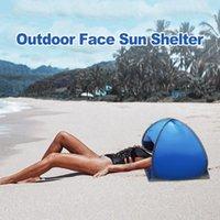 Палатки и приюты летний открытый пляж для лица палатка зонтики портативный маленький тент личный легкий складной ультрафиолетовый устный уют 1