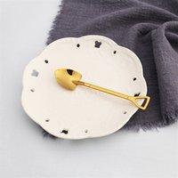 Zweizähnige Gabel Edelstahl Backen Werkzeug Schaufel Dessert notwendig Kreativ Viele Stil Eisschaufel Factory Direct Selling 2 2md P1