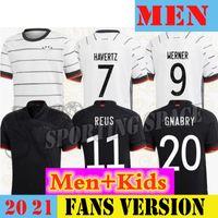 20 21 Germania Soccer Jersey Reus Kit Home Hummels Kroos Muller Gotze Camicia da calcio Havertz 2021Nens