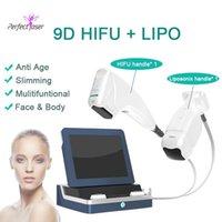 HIFU 8 خراطيش 9D 12 خطوط المحمولة liposonix 2 خراطيش liposonix hifu آلة تخفيض الدهون الوجه رفع hifu الجسم التخسيس آلة