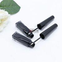 100pcs 3ml Black Makeup Empty Liquid Eyeliner Refillable Bottle Applicator Eyebrow Enhancer Eyelash Growth Serum Tubes F3508good qualtitygoo