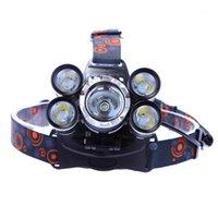 Portatile Mini LED Clip per fari Cappuccio Light USB Ricaricabile Faro principale LED Camping1