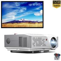 "PLZEN 6000 Lumen Home Theatre Projector LED 1080P VideoProjectors USB HDMI, 4K и 300 ""поддерживается, для смартфона на открытом воздухе и презентации"