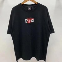 Nakış kutusu KITH NOTORIOR T Gömlek Erkekler Wome Streetwear Kith T-Shirt # Wi6V