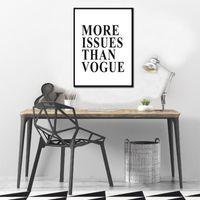 SEGURO DE VIDA más problemas que Vogue Cotizaciones Cartel pinturas sobre lienzo arte de la pared imprime imágenes para los cabritos sitio Inicio Decoración