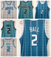 2020 2021 Projet de choix Hommes Lamelo Ball # 2 Jersey de basket-ball Pas cher Jersey Lamelo Ball Jersey Mint Vert Bleu Blanc Nouvelle ville