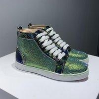 El fondo rojo de París Red Rock Sneakers Mujeres Martin Boots Junior Spikes Plataforma ORLATO BOOTS LUXURYS Designers Zapatos