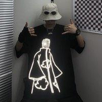 100% Algodão Harajuku Naruto Tshirt Payne Padrão Homens Verão Amina T-shirt Casual Cópia dos Desenhos Animados Masculino Tops Engraçado Japão Camisetas Menino 1021