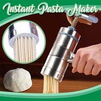 Aço inoxidável expressa macarrão fabricante de macarrão de fruta espaguete máquina de cozinha dropshipping decoração de inverno acessórios T200523