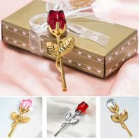 Sevgililer Günü Hediyeleri Kristal Altın Gül Çiçek Kutusu Aylık Günü Düğün Doğum Günü Promosyonu Mağaza Hediye Kutladı HH21-40