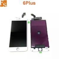 2021 LCD para pantalla LCD de alta calidad para iPhone 6 Plus Touch Digitizer pantalla completa con reemplazo de ensamblaje de marco para iPhone 6 Plus