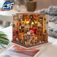 Kits de poupée en bois Cevennesfe Diy Dollhouse Miniature avec poupée Mobilier Mobilier Girl Cadeau Best Collection pour Dropshipping LJ200909