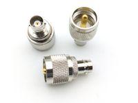 fiche mâle UHF PL259 PL259 à la prise femelle BNC adaptateur coaxial RF