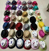 43 Styles Crianças Jazz Caps Caps Hat Moda Unissex Casual Plaid Chapéus Baby Boy Meninas de Crianças Crianças Acessórios Chapéus M3013