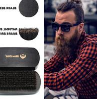 Nouvelle Beard Brosse rasage pour hommes Brosse hommes visage Barbe Nettoyage appareil Beard Mise en forme Styling Modèle de rasoir Brosse