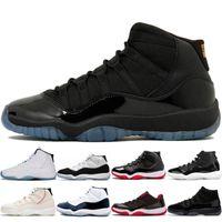 11 11s Gamma Mavi 25. Yıldönümü Concord 45 Kadın Erkek Basketbol Ayakkabıları Legend Mavi 72-10 Bred Erkekler Eğitmenler Sneakers Boyutu 13