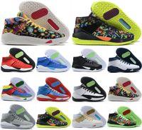 جديد 2020 أحذية كيفن دورانت 13 XIII KD 13S رجل متعدد الألوان KD13 المدربين تكبير كرة السلة النخبة الرياضة أحذية رياضية الولايات المتحدة 7-12