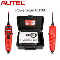 Diagnosewerkzeuge Autel PowerScan PS100 Elektrisches System Werkzeug OBD2 Scanner Automobilkreis Tester1