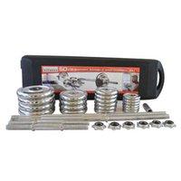 Hanteln 50 kg Galvanatte einstellbare Hantel-Set-Gewichte für Fitness Gewichtheben-Gymnastikausrüstung Muskelfestigkeit Übung