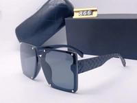 Beliebte Designer Sonnenbrillen Maxi-Quadrat-Sommer-Art für Frauen Adumbral Goggle Top-Qualität UV400 Objektiv Mischfarbe Mit Originalbox