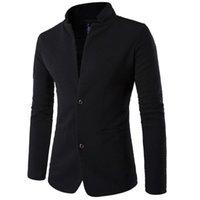 Мужские плюс размер одежды Clijackets для мужчин Slim Fit Мода костюмы Blazer Бизнес Пальто с длинным рукавом Топы Мужчины Случайные Ежедневные Осень Зимний Блейзер